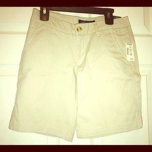 🆕Aeropostale Kacki Boys Shorts Bermuda Size 000